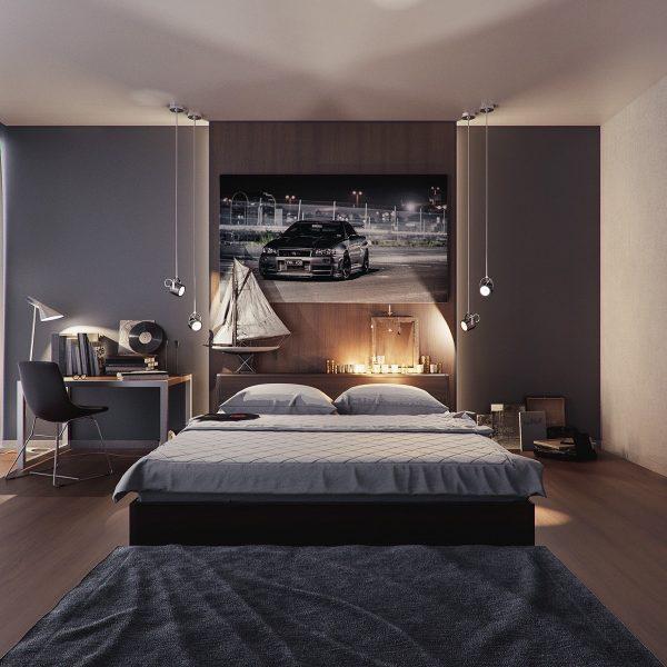 美式风卧室设计图片大全