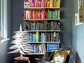 我和学霸差一个书房 11款书房布置摆放图