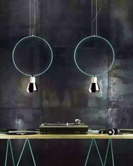 餐厅吊顶灯具装修图片