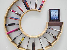 知识的美妙世界  10款创意书架摆放图