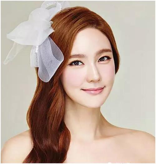 长发新娘发型图片 新娘经典发型设计