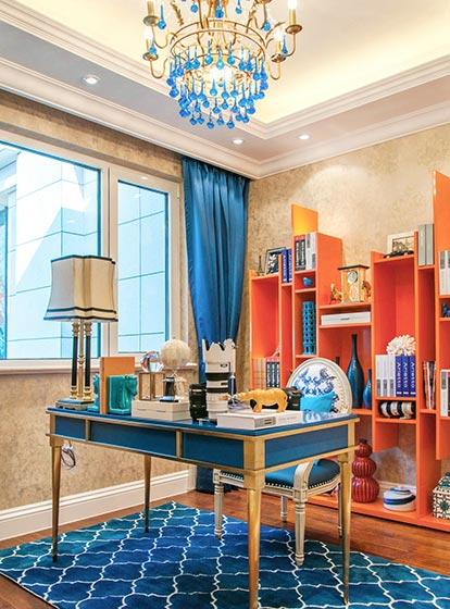 两居室书房装修装饰效果图