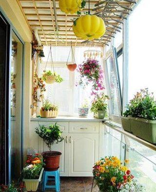 花园阳台布置参考图