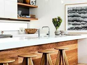 11个木质厨房间装修效果图 清新又整洁