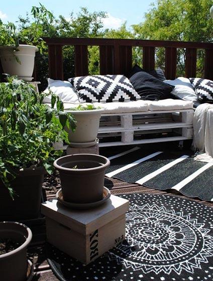休闲阳台装修装饰效果图