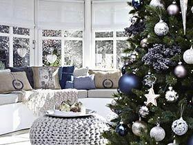 10个圣诞客厅布置效果图 浓浓节日气氛