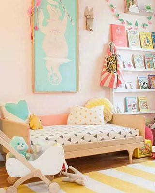 小女孩卧室装修效果图
