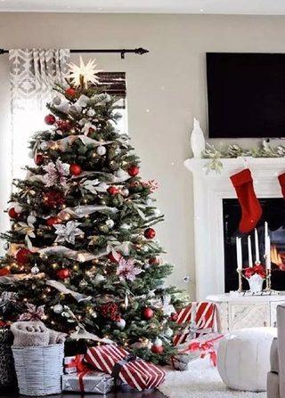 圣诞客厅装修布置图