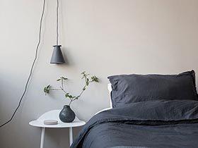 消失的床头板  10个卧室床头背景图片