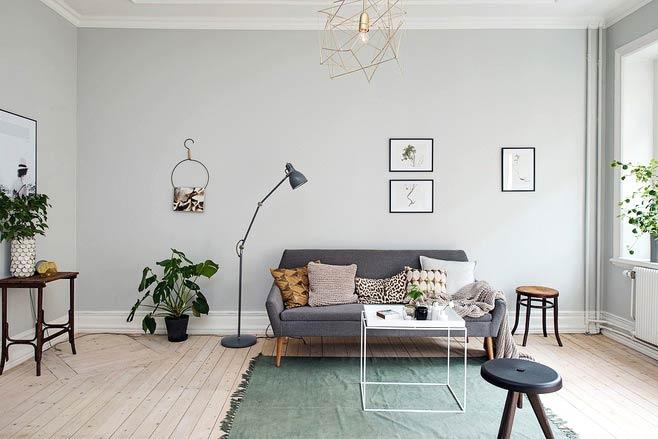 客厅木地板效果图装修