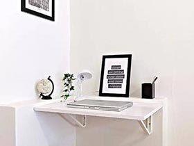 魔法书桌  10款搁板书桌装修图片