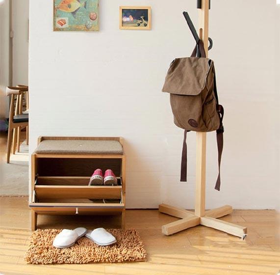 玄关鞋柜设计实景图
