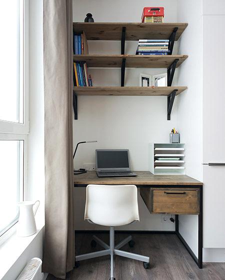 35平小户型装修小书桌设计