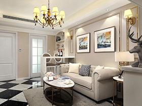 60平混搭风格小户型一室两厅装修 破茧成蝶