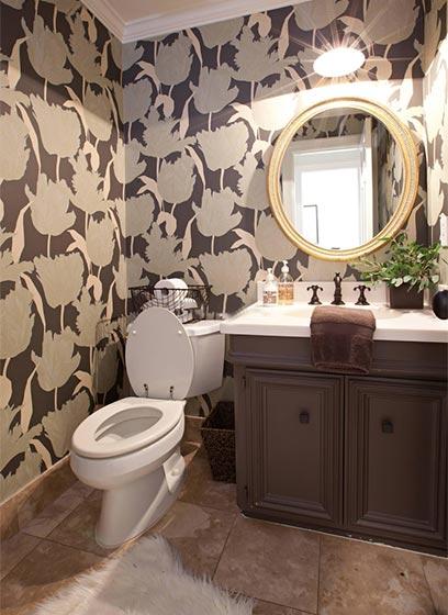 美式卫生间设计平面图