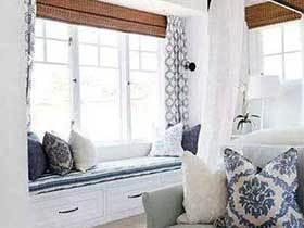 喜欢这样的生活  10个休闲飘窗设计实景图