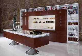 现代风格厨房收纳图