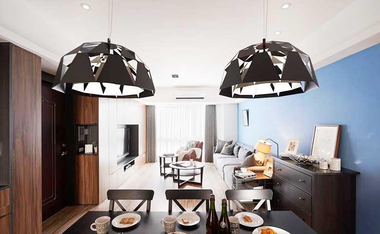 现代美式客厅图片大全