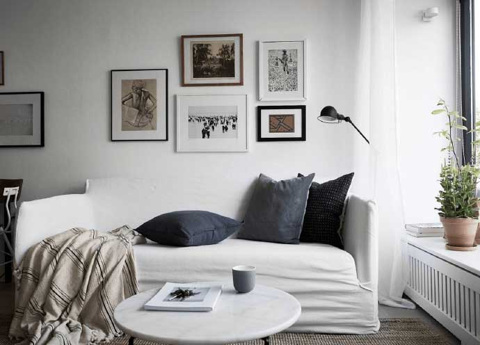 北欧风格客厅设计构造图片
