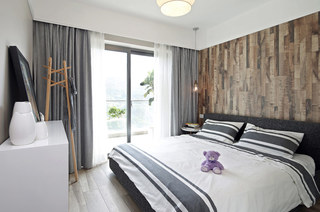 89平北欧风格二居主卧室装修