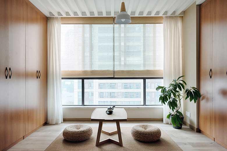 80㎡日式两居室茶室图片大全