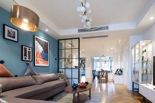 北欧风格三居室客厅装修设计