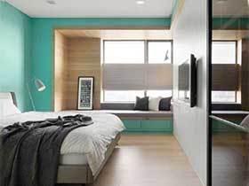 美丽吸引家  10款卧室飘窗实景图