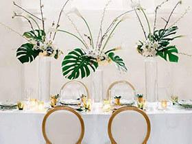 11个花器装饰餐桌效果图 餐厅颜值大提升