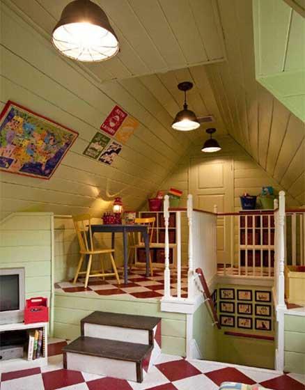 小阁楼卧室设计装修图片