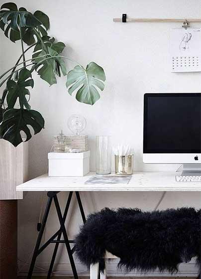 家庭小书桌装修平面图