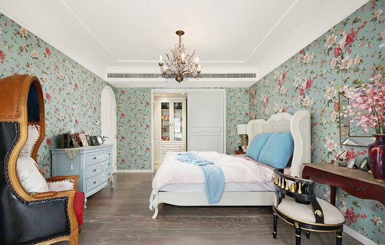 现代美式卧室图片大全