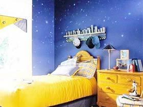 给你一片蓝色海洋  10款蓝色儿童房装修图