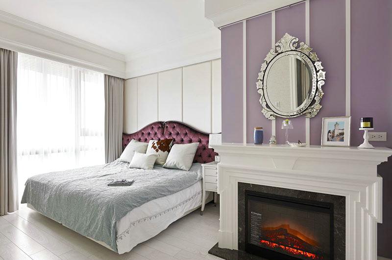 210平新古典风格装修主卧室设计