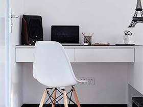 挤出别样空间  10款家庭书桌装修图