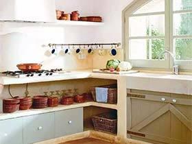实用好设计  10款厨房收纳实景图