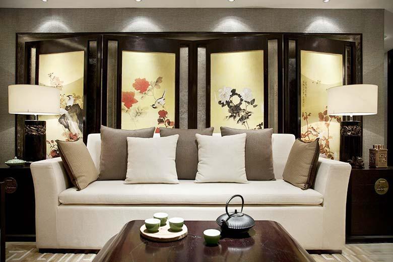 新中式客厅设计布置图片