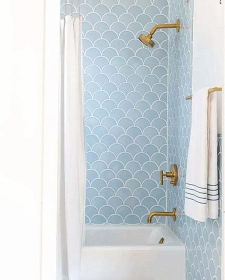 小卫生间瓷砖效果图设计