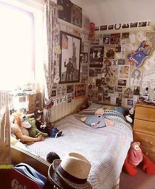 卧室照片墙图片大全