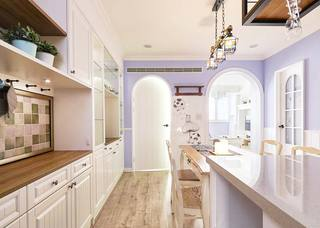 美式厨房装修实景图