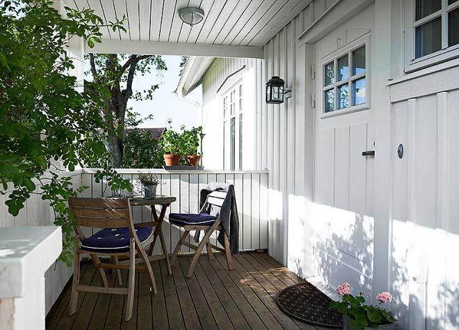 阳台花园装修装饰效果图