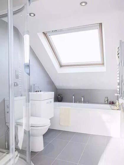 小户型卫生间设计摆放图