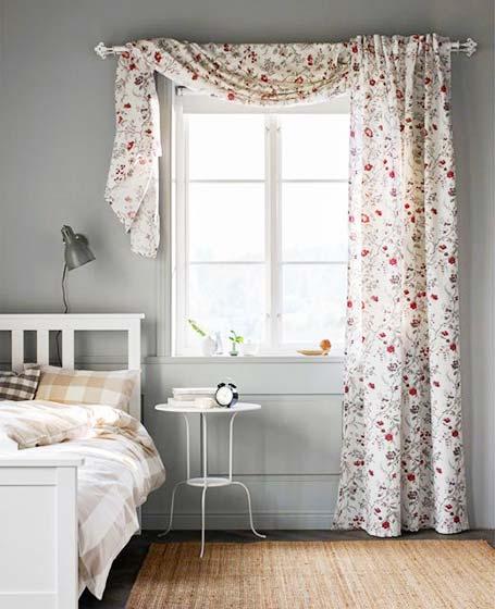 布艺窗帘设计平面图