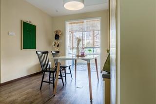 90平北欧风格两居室装修北欧风餐厅图片