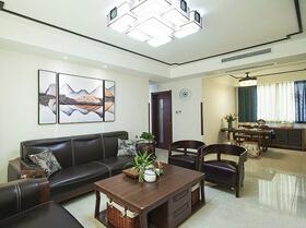 15萬半包中式風格三居室 高品質的家