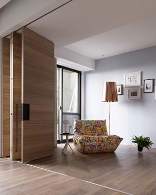 简约风格大户型装修会客厅图片