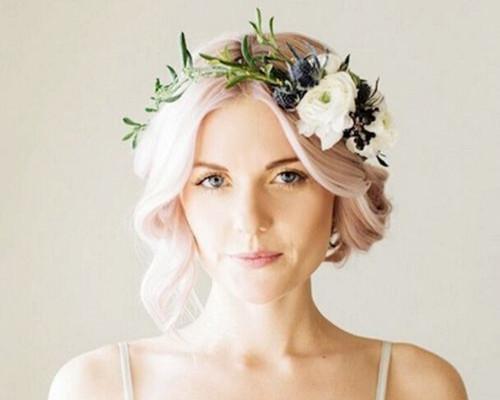 拍婚纱照头发染什么颜色好看 拍婚照时头发颜色