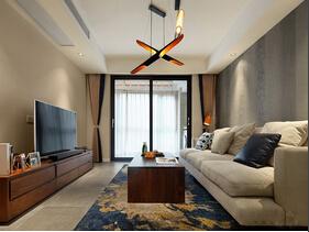混搭风格三居室装修 多种元素好个性