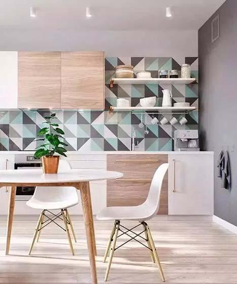 厨房花砖设计平面图