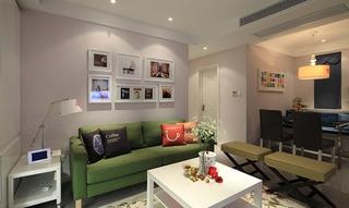 宜家风格两居室装修客厅效果图