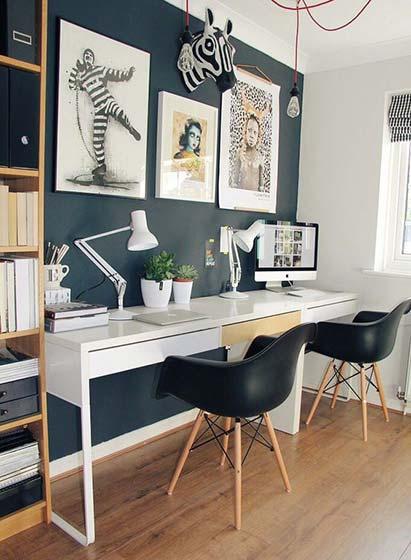 家庭工作室装修欣赏图